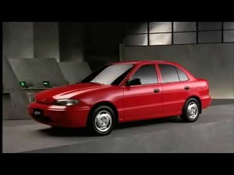 Hyundai Accent 1994 commercial