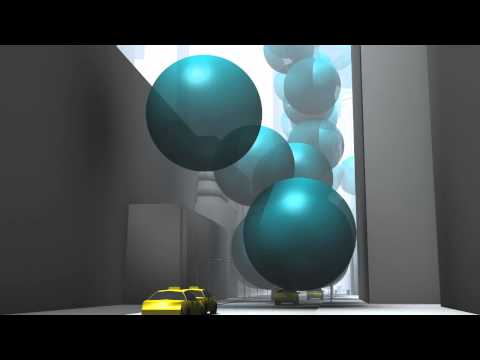 Watch: New York's CO2 Emissions Showcased as Giant Spheres