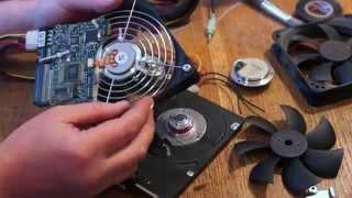Вентилятор из винчестера 2.(Fan of hard drive)