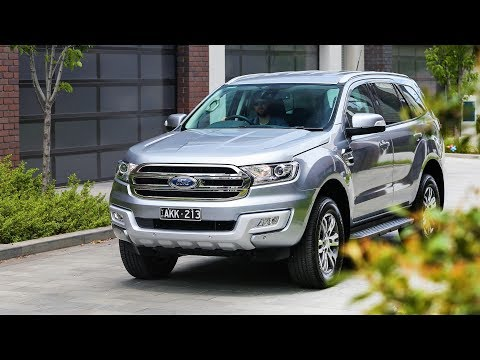 NEW 2019 FORD EVEREST Facelift - First Look!!