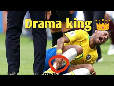 Neymar Diving ( Brazil vs Mexico ) 2018