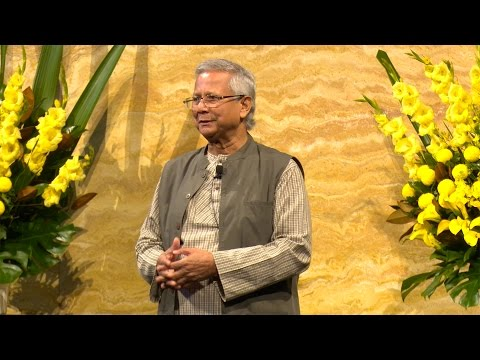 Nobel Laureate Muhammad Yunus- Full speech from UNSW talk