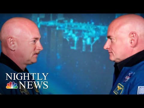 Astronaut's DNA Different Than His Twin's After Year In Space | NBC Nightly News