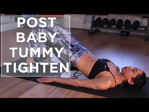 Get Back in Shape After Pregnancy | Post Pregnancy Exercises | Tummy Tighten