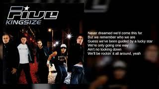 Five: 15. All Around (Lyrics)