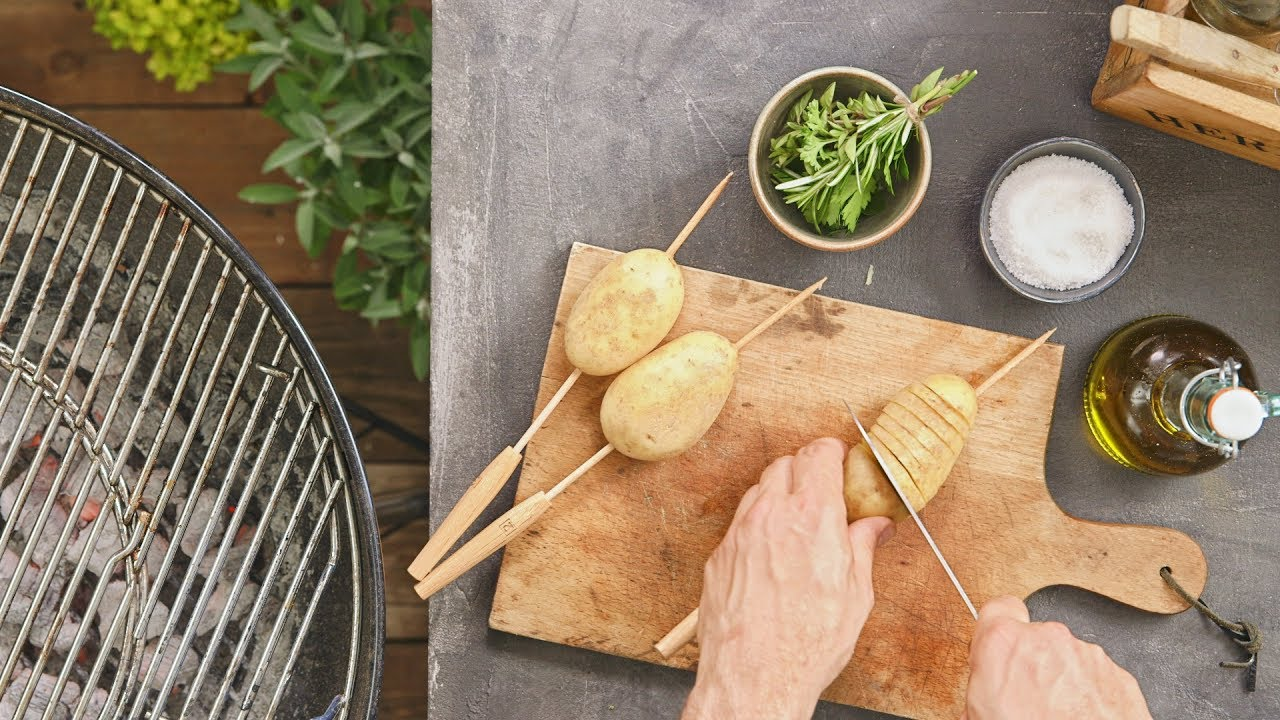 How-to: Spiral-Kartoffeln vom Grill | FOOBY