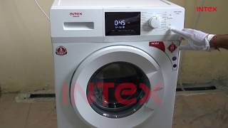 How to operate front loading washing machine WMFF60BD English