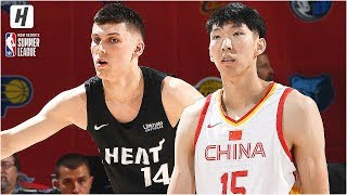 China vs Miami Heat - Full Game Highlights | July 5, 2019 NBA Summer League