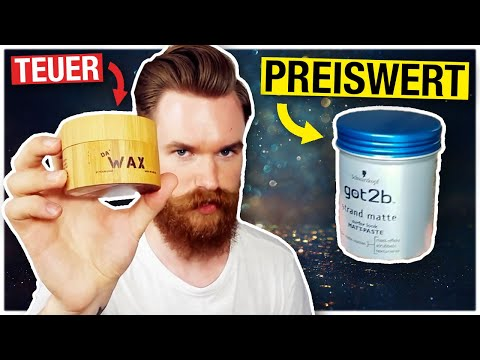 preiswert vs. teuer   Haarwachs   got2b Strandmatte vs. Da' Wax