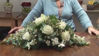 How To Do A Funeral Flower Arrangement