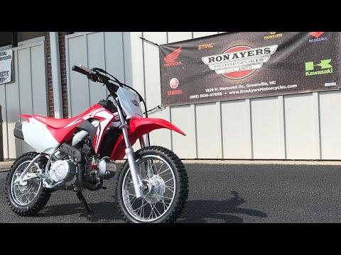 2021 Honda CRF110F in Greenville, North Carolina - Video 1