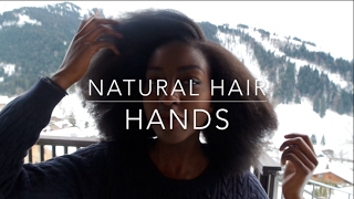 How to: Natural Hairstyles Hand Placement   Nakawunde