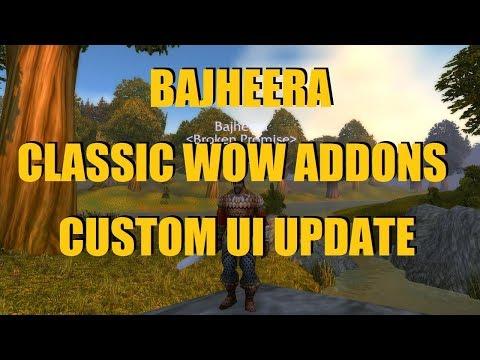 Bajheera - Classic WoW Addons Update #1 - Unitframes, Nameplates, Keybinds & Quest Guide! :)
