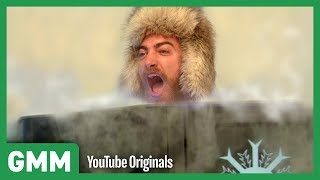 Freezing Our Bodies For 3 Minutes | Cryotherapy Test - dooclip.me