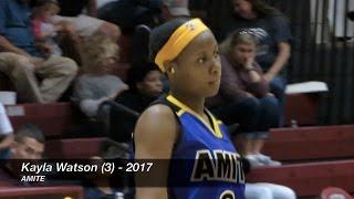 Amite 63, St. Thomas Aquinas 56 - Kayla Watson scores 29, Ania Johnson 14 & 24