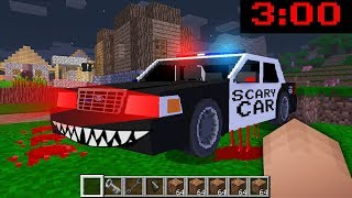 Minecraft NOOB vs PRO : WHAT DOES THIS SCARY CAR do in the VILLAGE?!?! IN MINECRAFT!