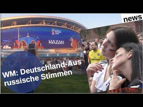 WM: Deutschland-Aus – russische Stimmen [Video]