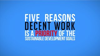 Thumbnail for Decent Work in the Sustainable Development Goals