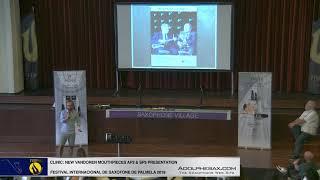 FISPalmela 2019 – VANDOREN AP3 & SP3 Mouthpiece presentation