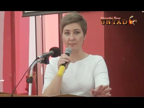 Dok Humas Untad, Dr. Olga Barabanova Keynote Speaker Asia Foundations