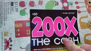 WOW! $220 SESSION! TEXAS LOTTERY SCRATCH OFF TICKETS!