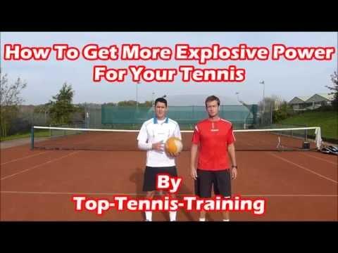 Video Tennis Medicine Ball Drills   Explosive Power For Tennis