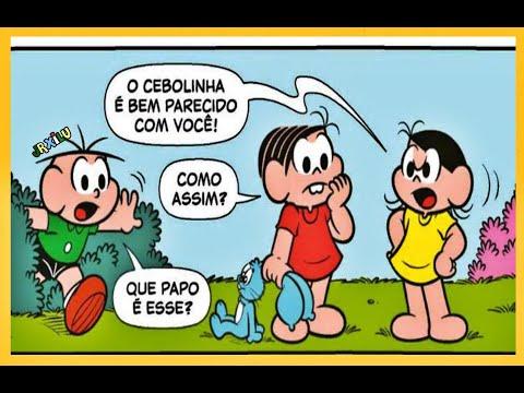 A Turma da Mônica em Muito Parecidos - Titi em Album de figurinhas - Quadrinhos Turma da Mônica