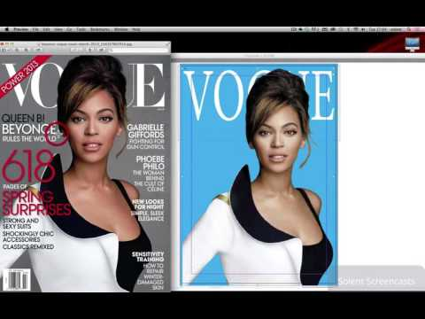 Adobe InDesign CC – Creating a Vogue magazine Cover