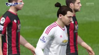 FIFA 16 Predicts AFC Bournemouth Vs Manchester United BPL Legendary Difficulty  By Pirelli7