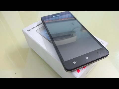 Lenovo A5000 Unboxing