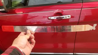 How to: Use a Slim Jim to open a Car! Incase you lock your keys inside 🤦♂️