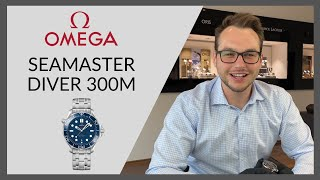 OMEGA Seamaster Diver 300M | Hands-on | Juwelier Altherr | Köln