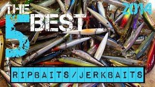The 5 Best Ripbaits/Jerkbaits (2014)