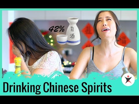 Drinking Chinese Spirits and Alcohol #NotPodAsUsual: