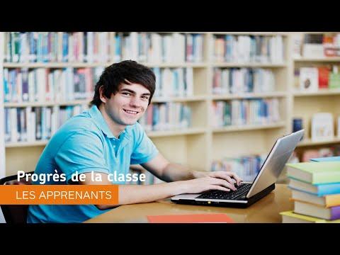 Naviguer dans Environnement d'apprentissage de Brightspace - Progrès de la classe - les apprenants