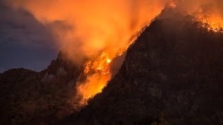 Lake Lure wildfire, 2016