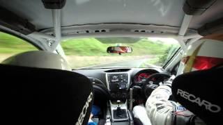 全日本ラリー選手権 丹後半島ラリー2014 SS13 福永修スーパードライビング