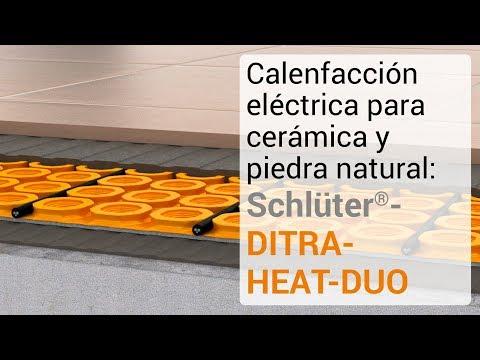 Calefacción eléctrica para cerámica y piedra natural: Schlüter-DITRA-HEAT-DUO