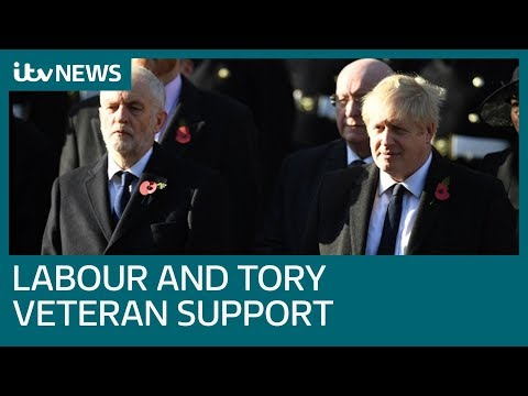 Labour and Tories pledge to support veterans and their families | ITV News