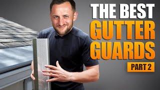 3 best gutter guards: Micro Mesh, LeafGuard, Screens