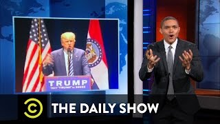 The Daily Show  Donald Trumps Political Fight Club