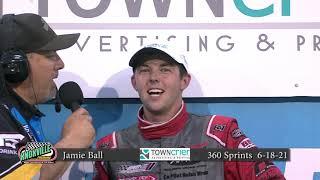 Knoxville Raceway 360 Victory Lane - June 18, 2021