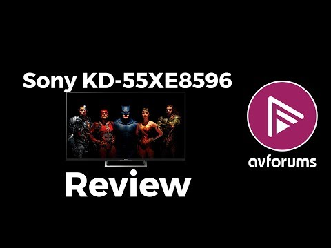 Sony XE85 (KD-55XE8596) 4K LED LCD TV Review