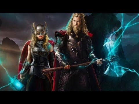 """""""NEW"""" Thor 4 Love and Thunder Posters"""