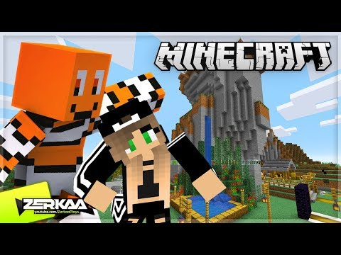 Teaching My GIRLFRIEND How To Play Minecraft! (Minecraft #32 LIVE