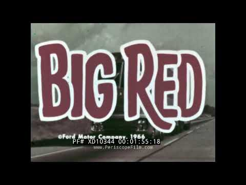 Video bij: Ford Big Red: Super Eco Combi uit 1964