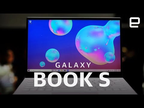 Samsung Galaxy Book S Hands-on: The most stylish Snapdragon laptop yet