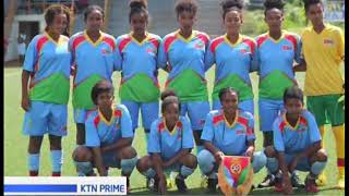Harambe starlets winning record ends as Eritrea force a 1 - 1 draw