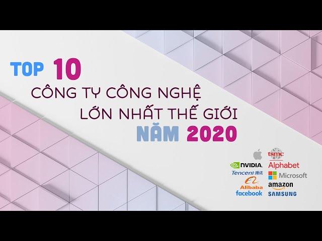 Top 10 Công Ty Công Nghệ LỚN NHẤT thế giới cuối năm 2020 | Tính theo Market Cap