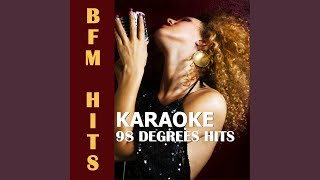 Take My Breath Away (Originally Performed by 98 Degrees) (Karaoke Version)